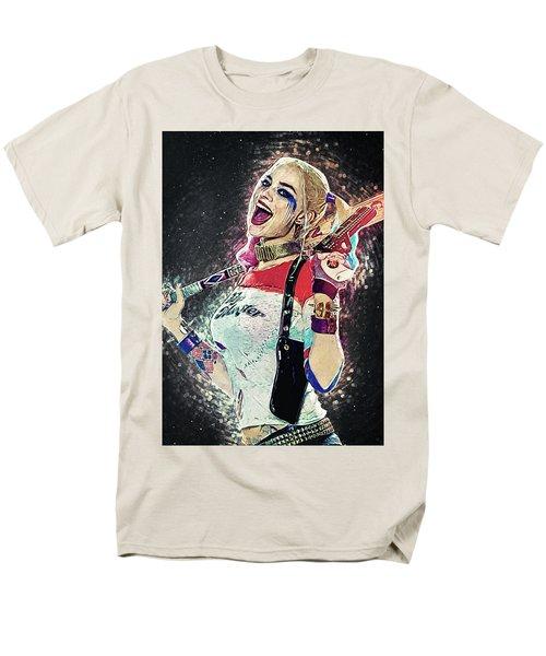 Harley Quinn Men's T-Shirt  (Regular Fit) by Taylan Apukovska