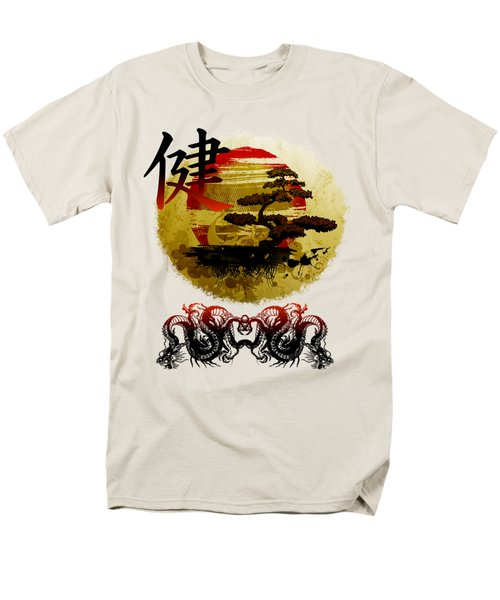 Men's T-Shirt  (Regular Fit) featuring the photograph Health Oriental Symbol by Robert G Kernodle