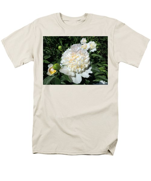 Men's T-Shirt  (Regular Fit) featuring the photograph Heavenly White by Teresa Schomig