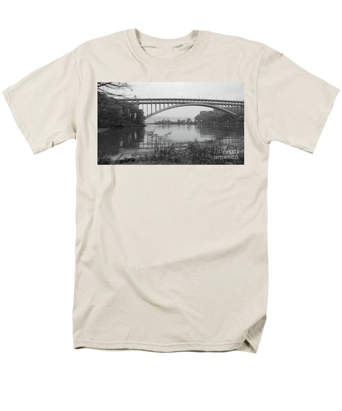 Men's T-Shirt  (Regular Fit) featuring the photograph Henry Hudson Bridge  by Cole Thompson