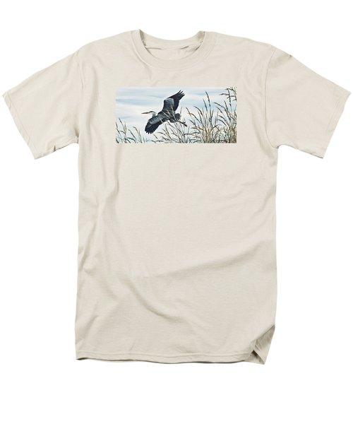 Herons Flight Men's T-Shirt  (Regular Fit) by James Williamson