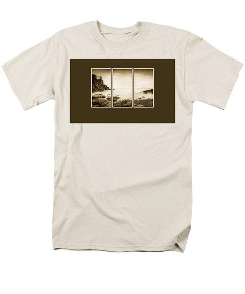 High Rock Triptych Men's T-Shirt  (Regular Fit) by Martina Fagan