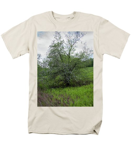 Men's T-Shirt  (Regular Fit) featuring the photograph Hillside Lady by Michael Friedman