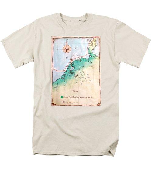Magna Frisia- Frisian Kingdom Men's T-Shirt  (Regular Fit)