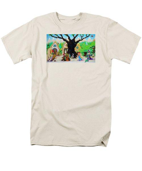 Hobbit Land Men's T-Shirt  (Regular Fit) by Matt Konar