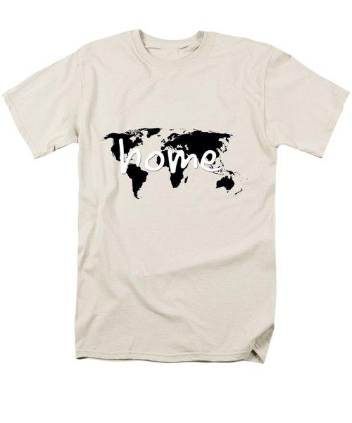 Home 2 Men's T-Shirt  (Regular Fit) by Paulette B Wright