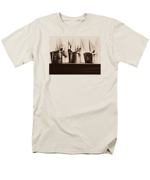 Men's T-Shirt  (Regular Fit) featuring the photograph Honeybee Smokers by Kristine Nora