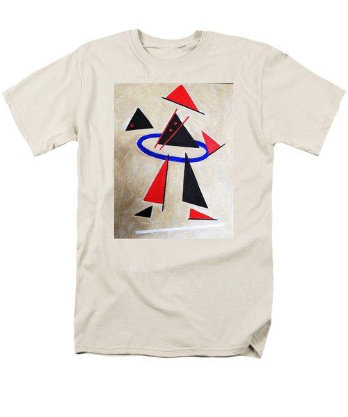 Hoola Hoop Men's T-Shirt  (Regular Fit) by Tamara Savchenko