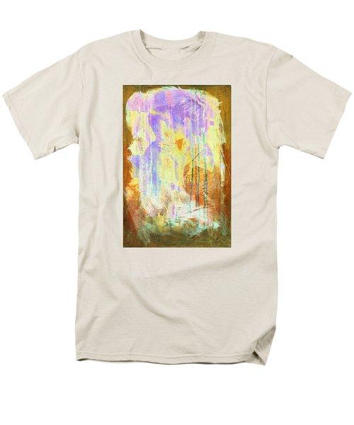 Men's T-Shirt  (Regular Fit) featuring the digital art Hugging Canvas by Andrea Barbieri
