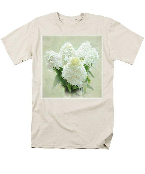 Hydrangeas Men's T-Shirt  (Regular Fit) by Geraldine Alexander