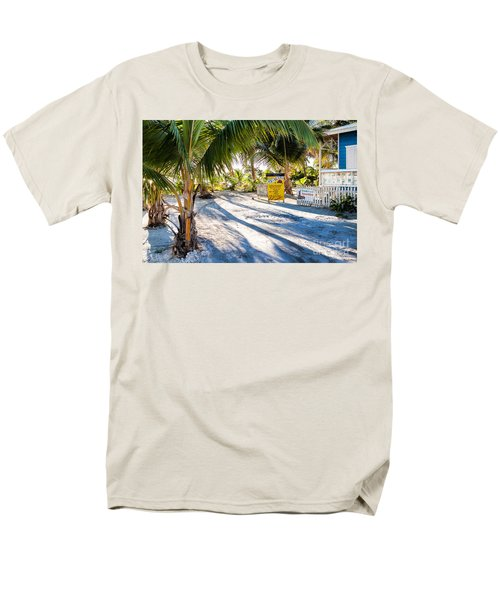 Men's T-Shirt  (Regular Fit) featuring the photograph Ice Beans by Lawrence Burry