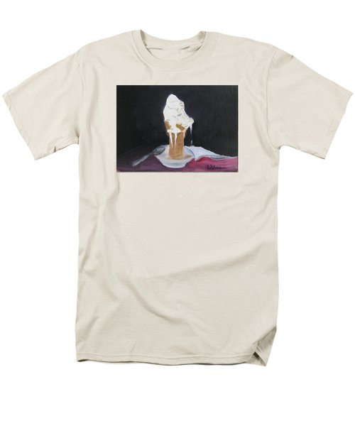 Men's T-Shirt  (Regular Fit) featuring the painting Ice Cream Melt by LaVonne Hand