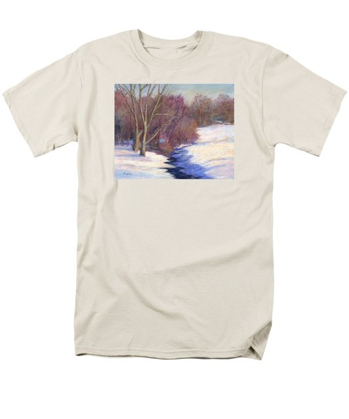 Icy Stream Men's T-Shirt  (Regular Fit) by Vikki Bouffard