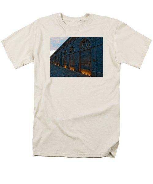 Illuminated Arches Men's T-Shirt  (Regular Fit) by Helen Northcott