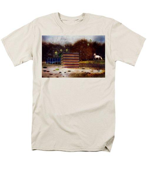 Imagine Men's T-Shirt  (Regular Fit)