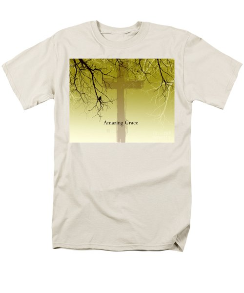Immanuel- My Saviour Men's T-Shirt  (Regular Fit) by Trilby Cole