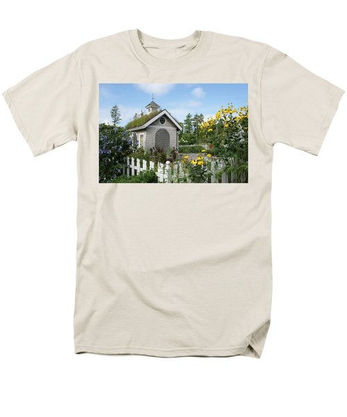 Men's T-Shirt  (Regular Fit) featuring the photograph In The Garden by Lois Lepisto