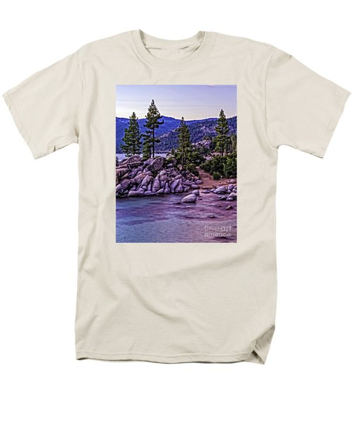In The Still Of Dusk Men's T-Shirt  (Regular Fit) by Nancy Marie Ricketts