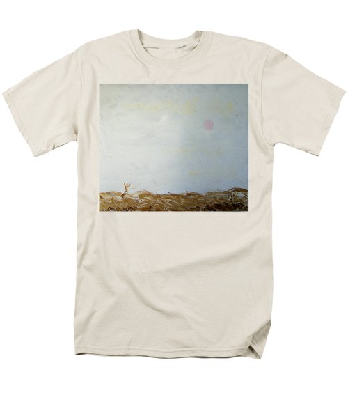 Men's T-Shirt  (Regular Fit) featuring the painting Incredible Lightness Of Being by Lenore Senior