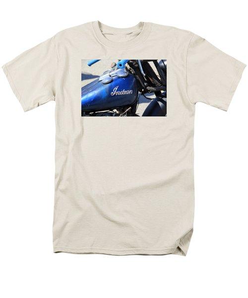 Indian Blue Men's T-Shirt  (Regular Fit)