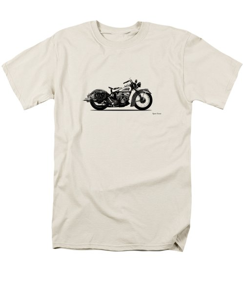 Indian Sport Scout 1939  Men's T-Shirt  (Regular Fit) by Mark Rogan