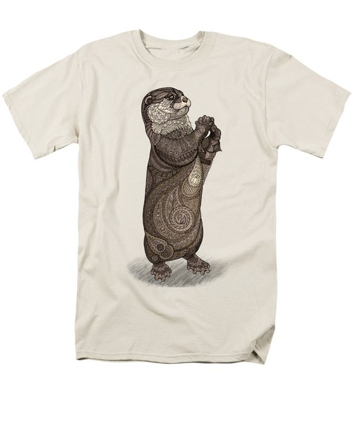 Infatuated Otter Men's T-Shirt  (Regular Fit) by ZH Field