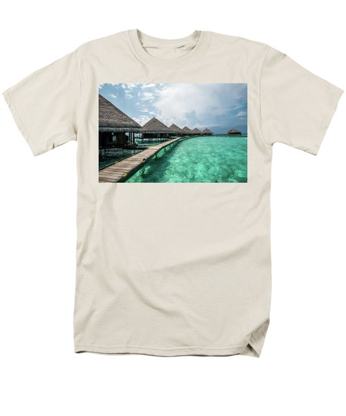 Men's T-Shirt  (Regular Fit) featuring the photograph Inhale by Hannes Cmarits