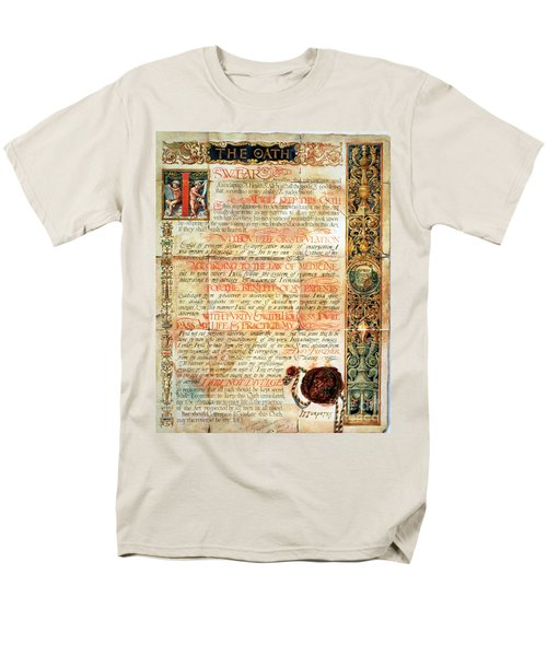 International Code Of Medical Ethics Men's T-Shirt  (Regular Fit) by Science Source