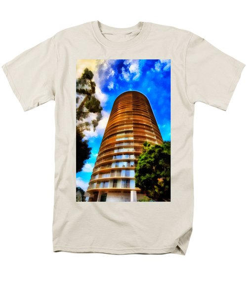 Men's T-Shirt  (Regular Fit) featuring the photograph International Tower  by Joseph Hollingsworth