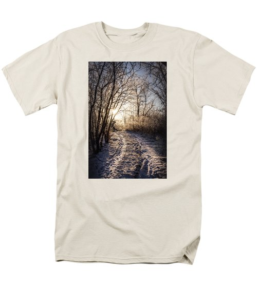 Men's T-Shirt  (Regular Fit) featuring the photograph Into The Light by Annette Berglund