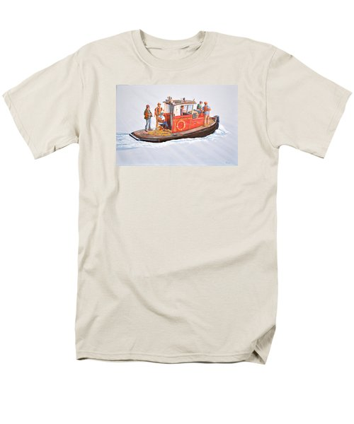 Into The Mist-the Crew Boat Men's T-Shirt  (Regular Fit) by Gary Giacomelli
