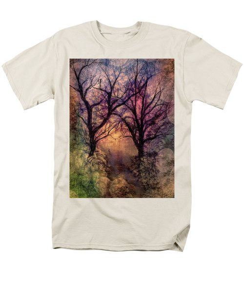 Into The Woods Men's T-Shirt  (Regular Fit) by Annette Berglund