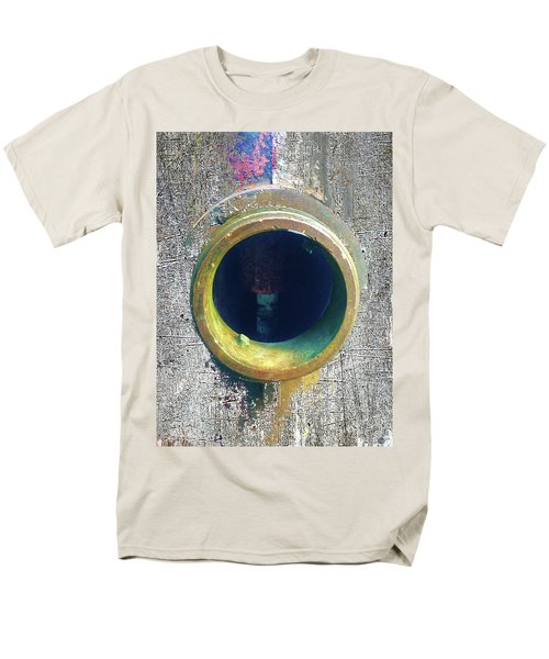 Men's T-Shirt  (Regular Fit) featuring the mixed media Inturupted by Tony Rubino