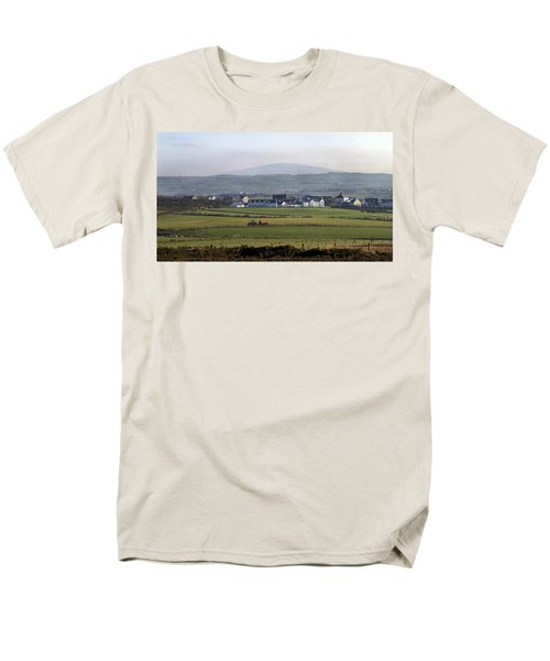 Irish Sheep Farm II Men's T-Shirt  (Regular Fit) by Henri Irizarri