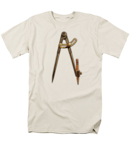 Men's T-Shirt  (Regular Fit) featuring the photograph Iron Compass Pattern by YoPedro