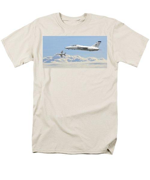 Men's T-Shirt  (Regular Fit) featuring the digital art Italian Air Force - Ghibli by Pat Speirs