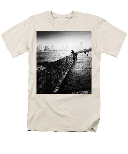 Jaffa Port Men's T-Shirt  (Regular Fit) by Hayato Matsumoto