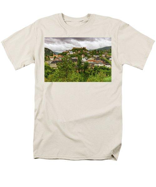 Jajce, Bosnia And Herzegovina Men's T-Shirt  (Regular Fit) by Elenarts - Elena Duvernay photo