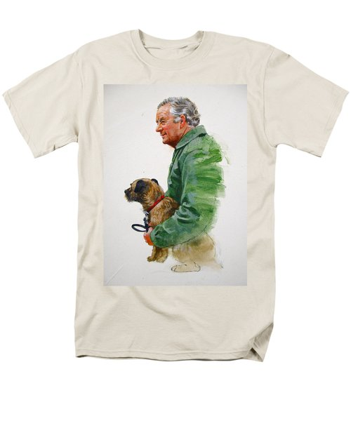 James Herriot And Bodie Men's T-Shirt  (Regular Fit) by Cliff Spohn