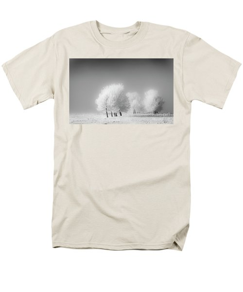 January Frost Men's T-Shirt  (Regular Fit) by Dan Jurak