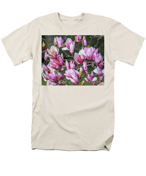 Men's T-Shirt  (Regular Fit) featuring the photograph Japanese Blooms by Gregory Daley  PPSA