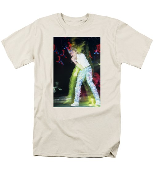 Joe Elliott Of Def Leppard Men's T-Shirt  (Regular Fit) by Rich Fuscia