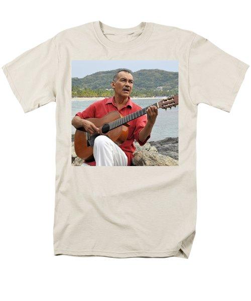Men's T-Shirt  (Regular Fit) featuring the photograph Jose Luis Cobo by Jim Walls PhotoArtist