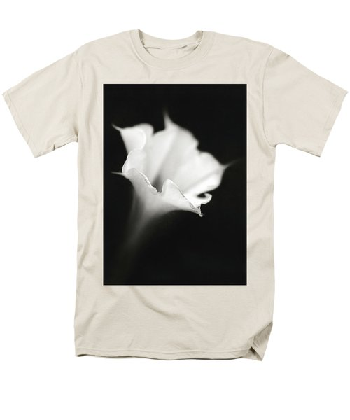Men's T-Shirt  (Regular Fit) featuring the photograph Just A White Flower by Eduard Moldoveanu