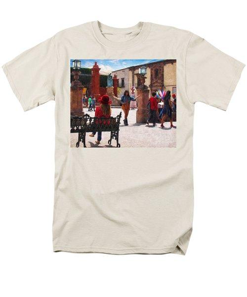 Men's T-Shirt  (Regular Fit) featuring the photograph Just Before The Wedding by John Kolenberg