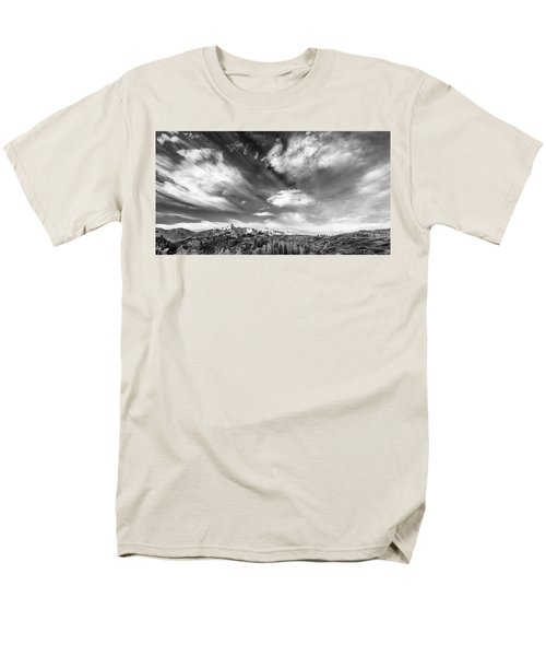 Just The Clouds Men's T-Shirt  (Regular Fit) by Jon Glaser