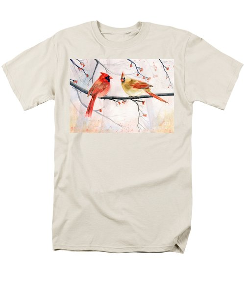 Just The Two Of Us Men's T-Shirt  (Regular Fit) by Melly Terpening