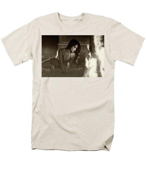 Kamasutra Girl 3 Men's T-Shirt  (Regular Fit) by Kiran Joshi