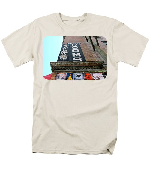 Men's T-Shirt  (Regular Fit) featuring the photograph Keefer Rooms by Ethna Gillespie