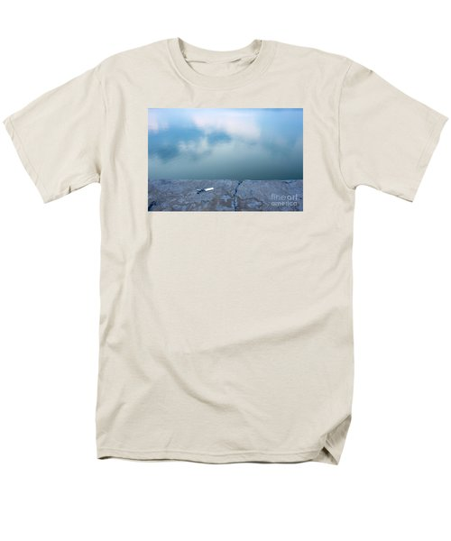 Key On The Lake Shore Men's T-Shirt  (Regular Fit) by Odon Czintos